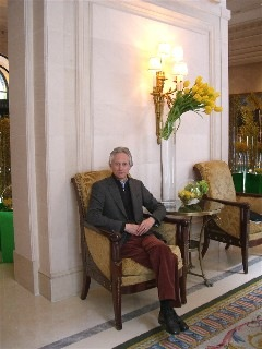 tscheiar at the George V Paris