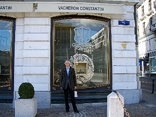 Vacheron-Constantin-Boutique, Genf